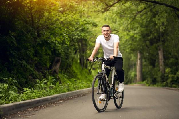 cykling i det fri